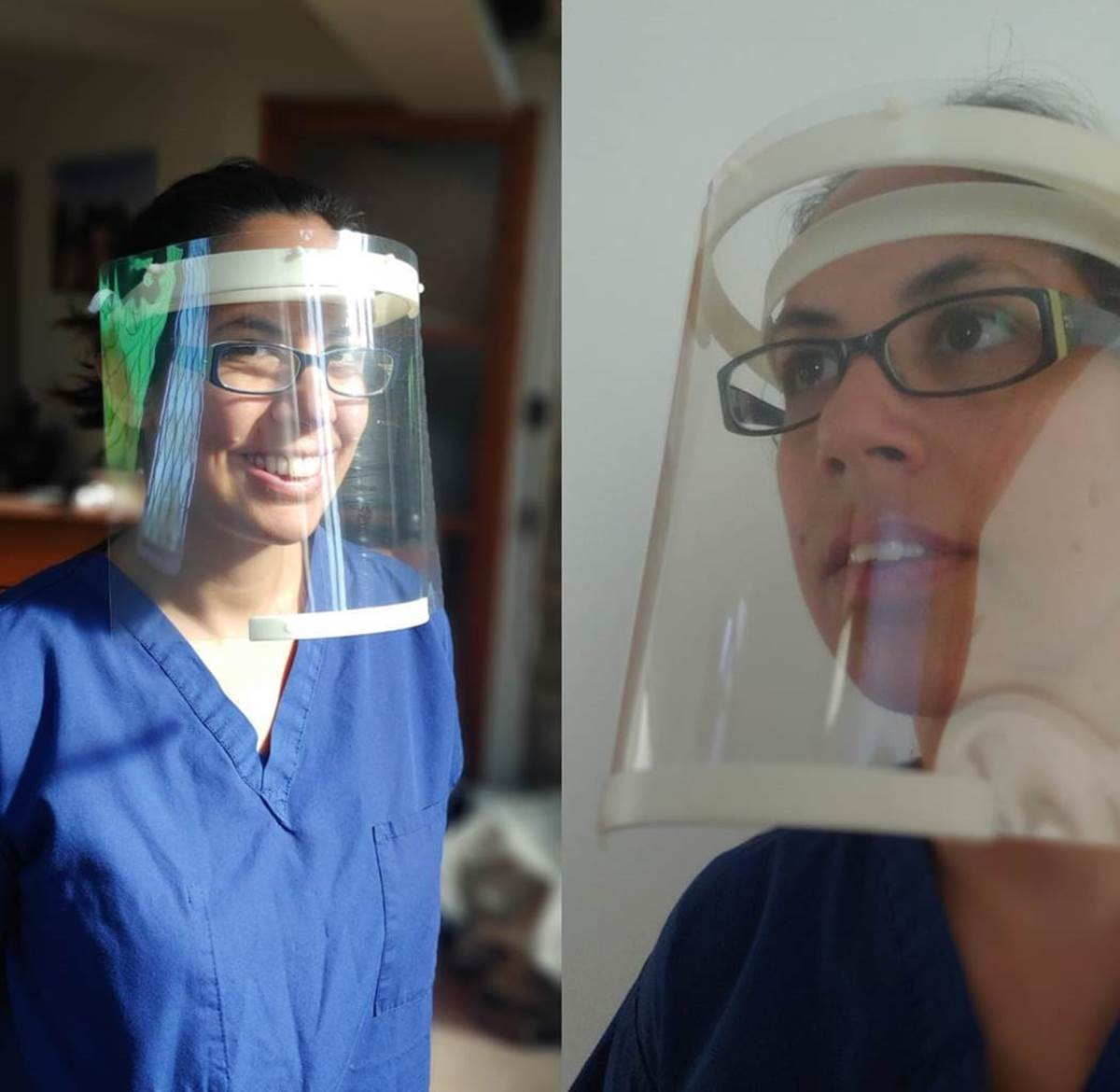 AVoptics are proud to ship the first batch of Face shields to support doctors in London.