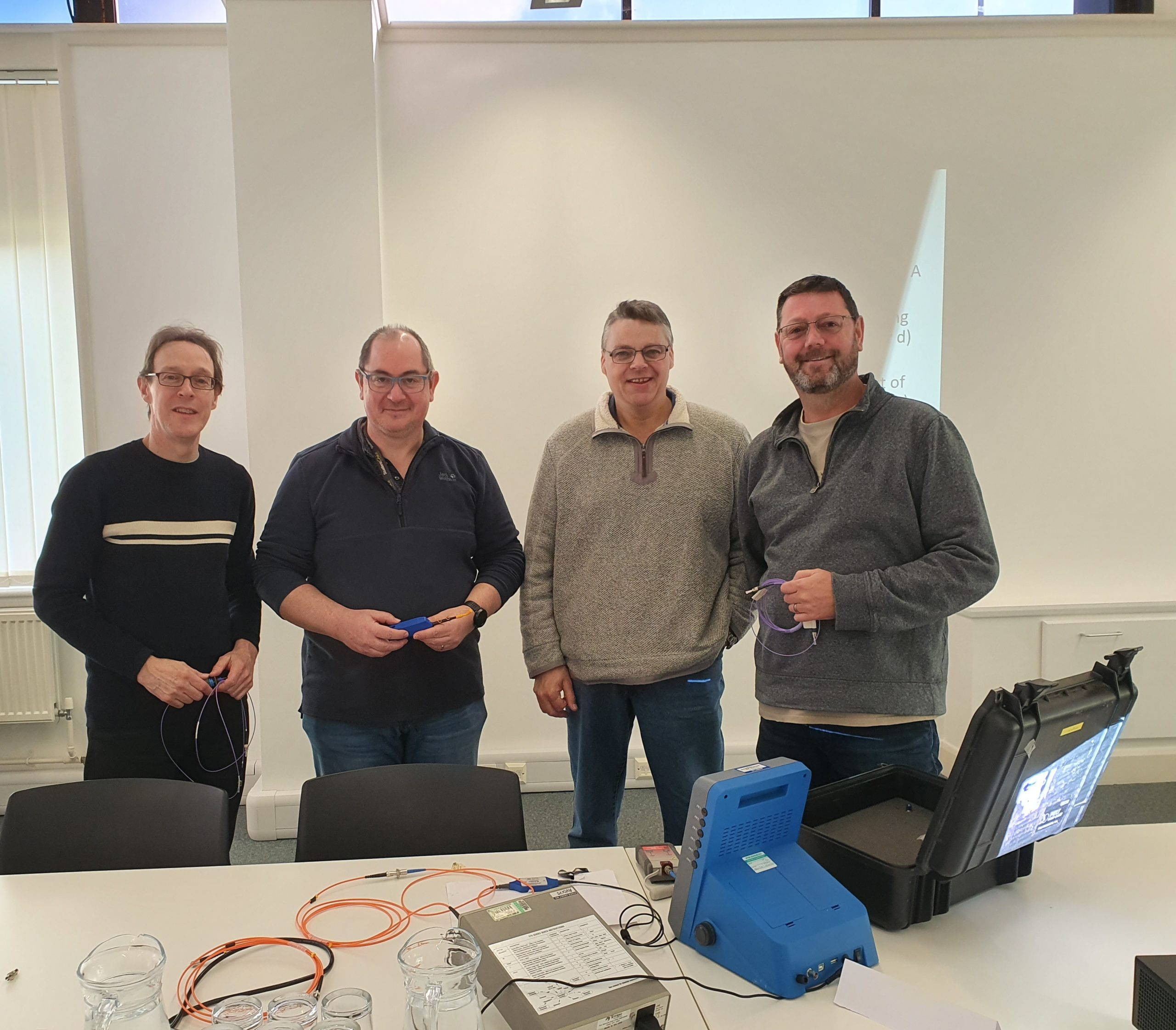 SERCO team complete ARINC 807 Installer training
