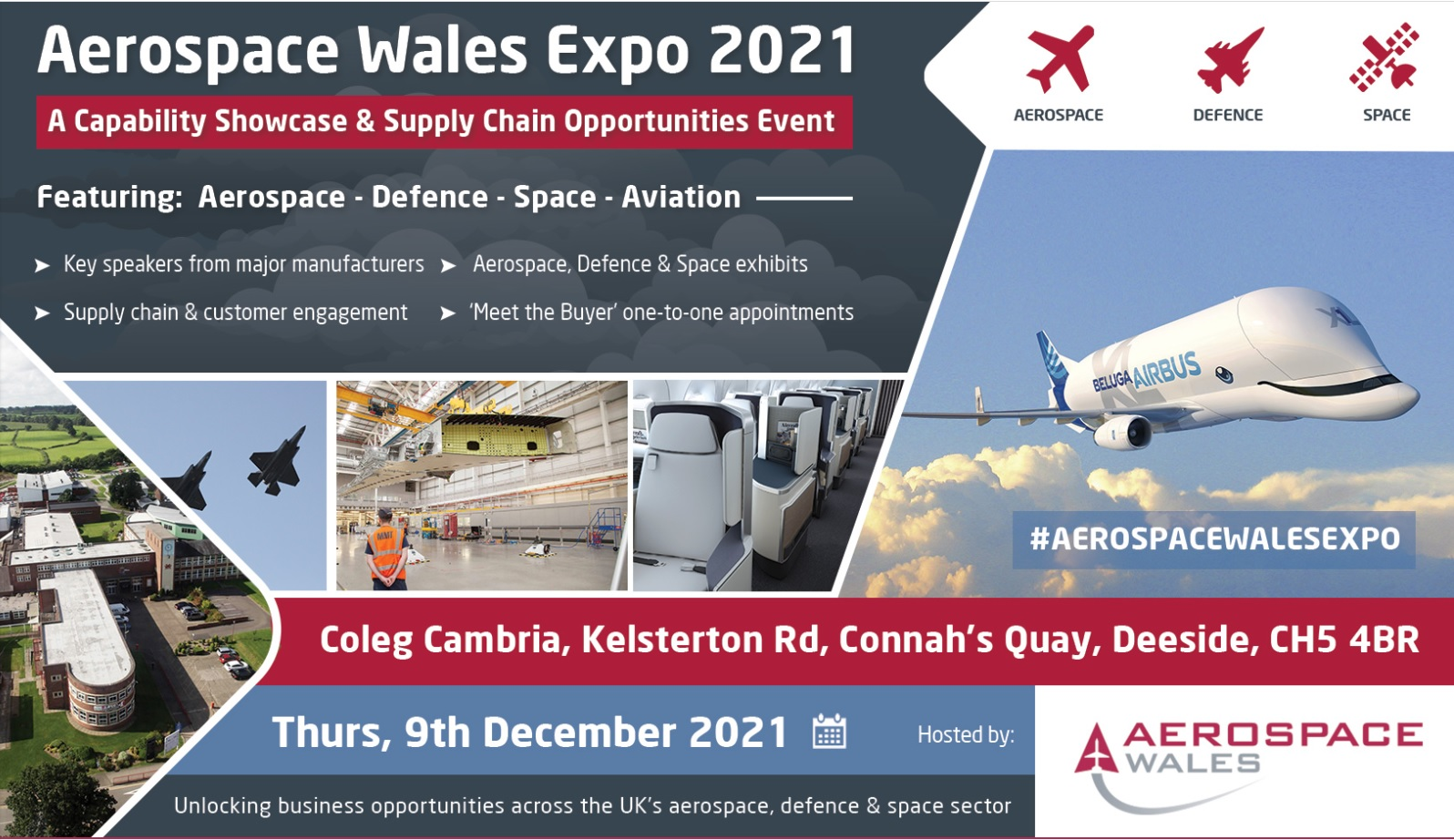 AVoptics exhibiting at Aerospace Wales Expo 2021